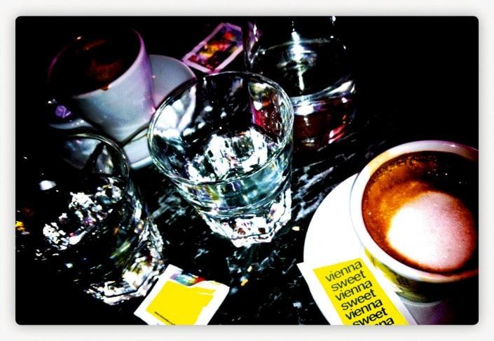 #007 Wiener Kaffeehaus, Closeup