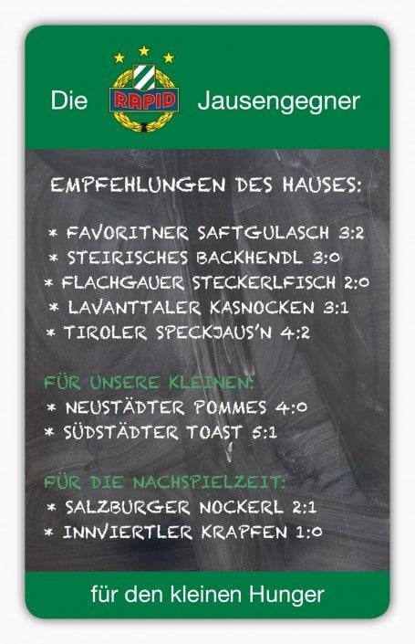 #101 SK Rapid Wien Jausengegner