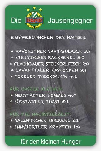 #102 SK Rapid Wien Jausengegner