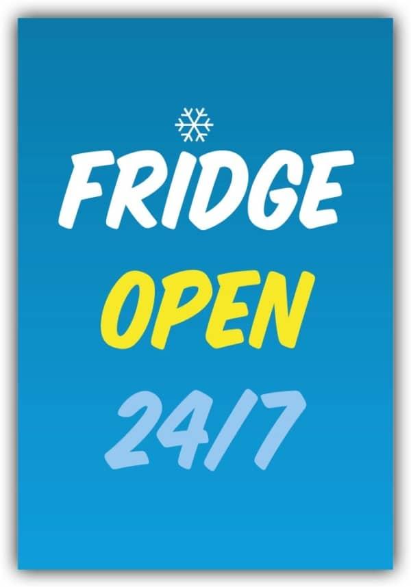 #013 Fridge open 24/7