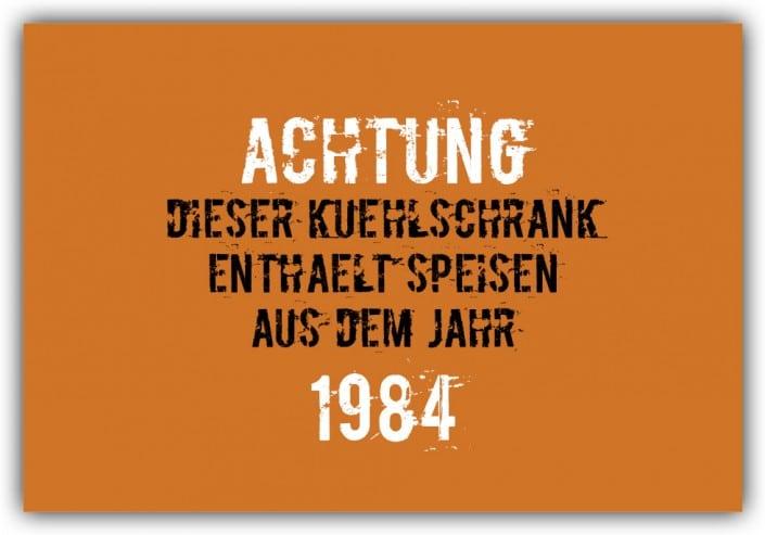 #019 Speisen aus dem Jahr 1984