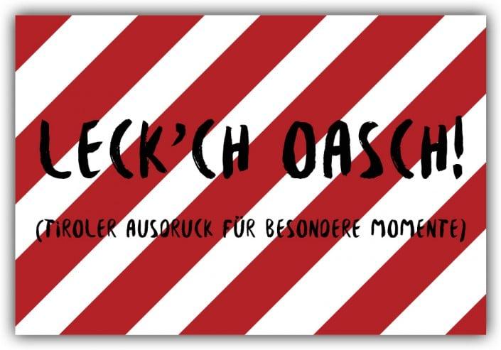 #031 Leck'ch Oasch!