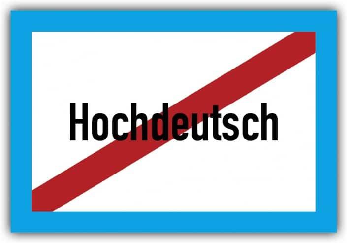 #033 Hochdeutsch Ende