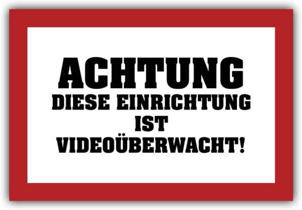 #034 Achtung videoüberwacht!