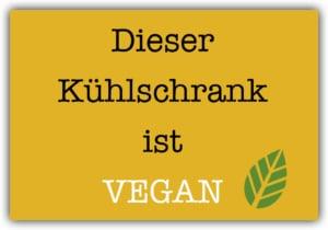 #036 Dieser Kühlschrank ist vegan