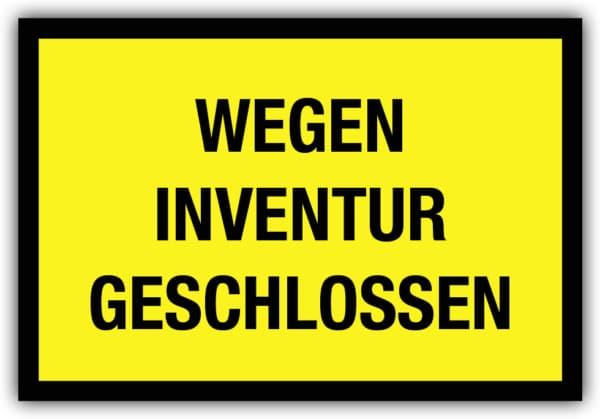 #046 Wegen Inventur geschlossen