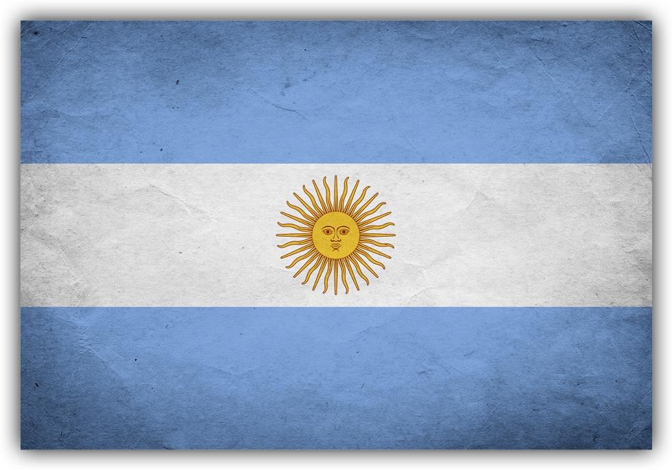 #501 Flagge Argentinien