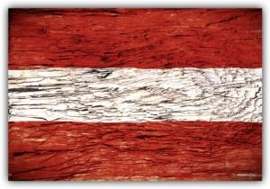 #502 Flagge Österreich