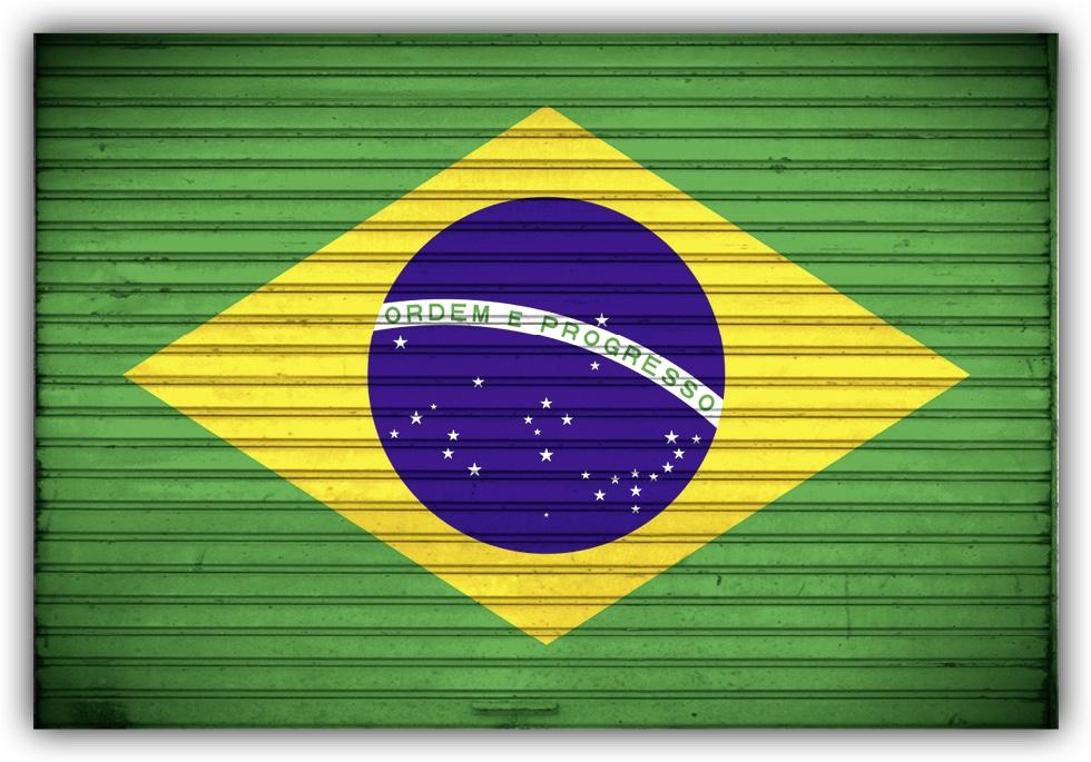 #503 Flagge Brasilien