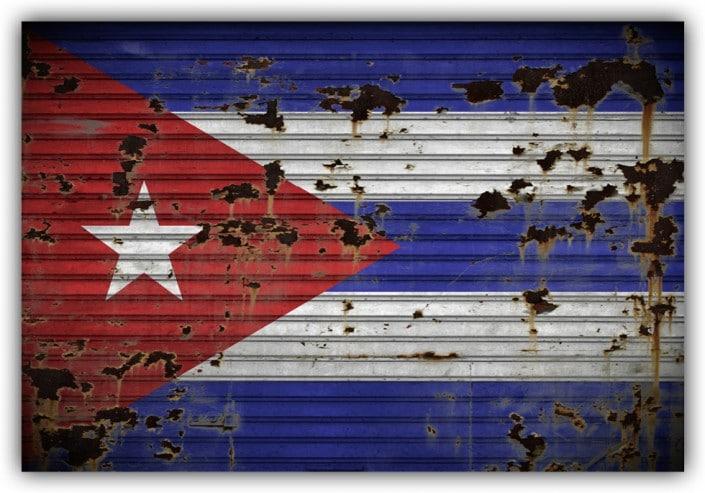 #505 Flagge Kuba