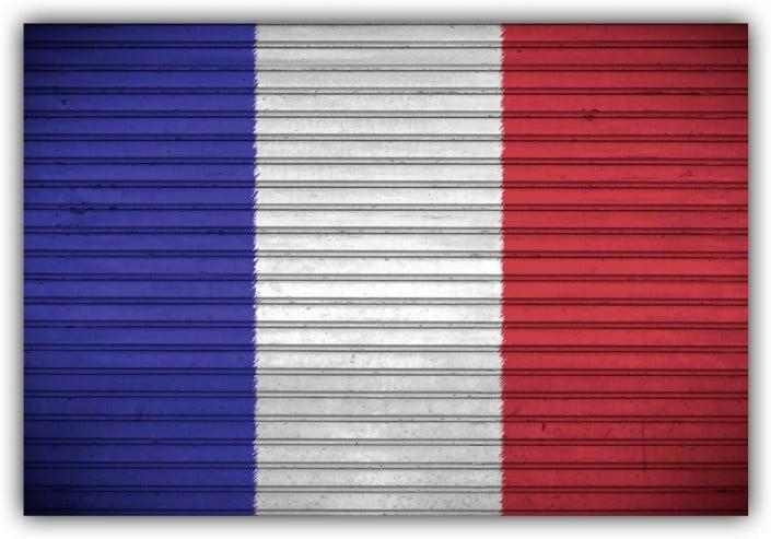 #506 Flagge Frankreich