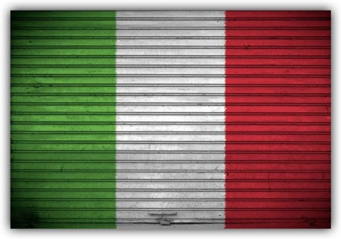 #510 Flagge Italien