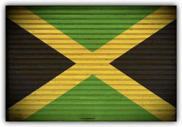 #512 Flagge Jamaika