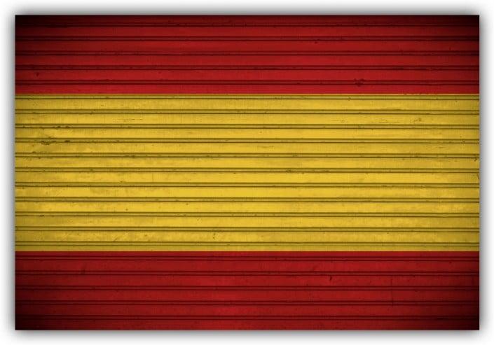 #517 Flagge Spanien