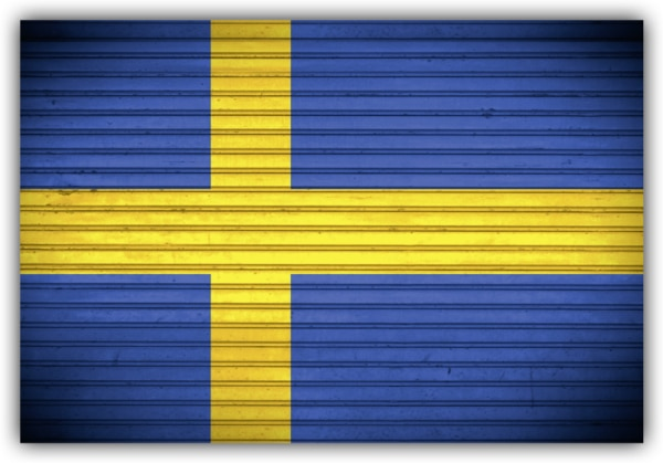 #518 Flagge Schweden