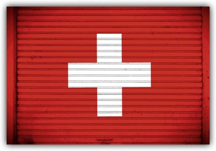 #519 Flagge Schweiz