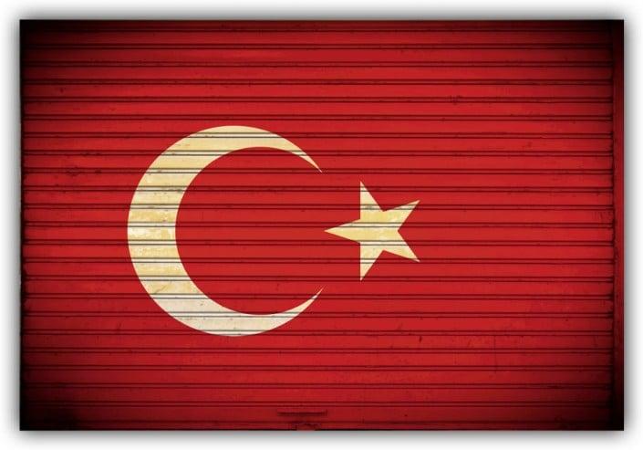 #521 Flagge Türkei