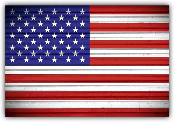 #522 Flagge USA