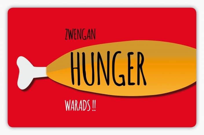 #017 Zwengan Hunger warads!